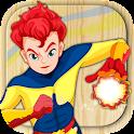 Paint superheroes icon