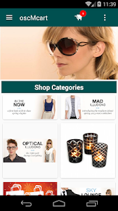 oscMcart - Magento® Mobile App screenshot 1