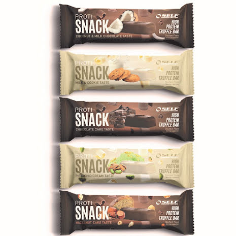 SELF Proti Snack Truffle Bar 45g Coconut & Milk Chocolate - 1st