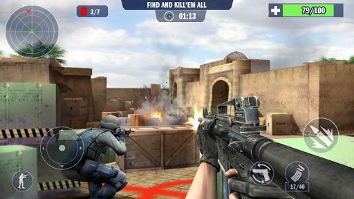 Policier spécial antiterroriste Counter Terrorist  captures d'écran 1
