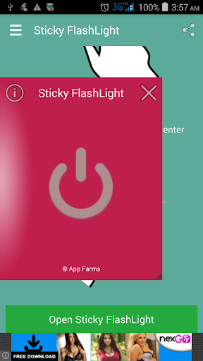 Sticky FlashLight