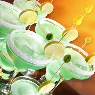 Lime Vodka Punch.