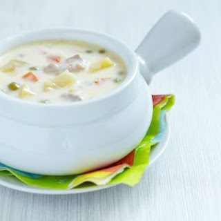 Cheese Soup With Chicken
