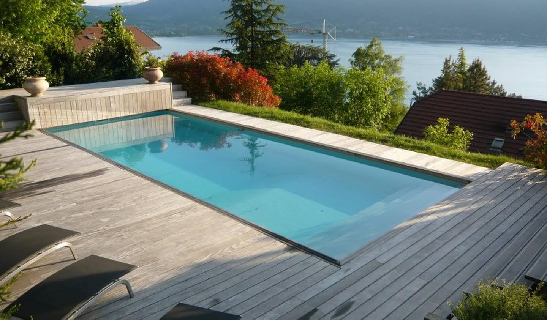 Villa avec piscine et jardin Veyrier-du-Lac