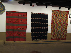Photo: Millicent Rogers collected pottery and rugs from a number of pueblos.