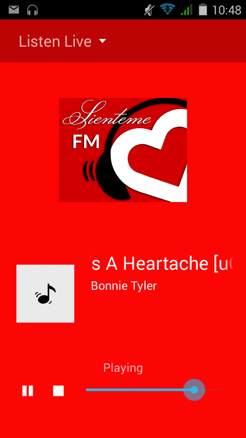 Sienteme FM- screenshot