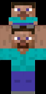 Cursed Steve Nova Skin