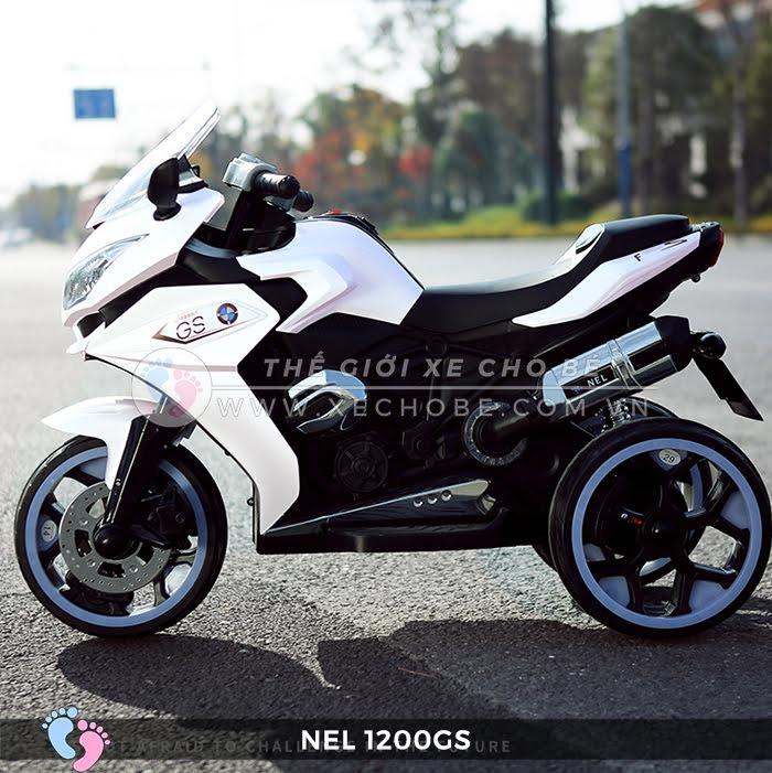 Moto điện 3 bánh cho bé NEL-1200GS 8
