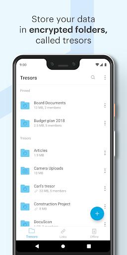 Tresorit screenshot 3