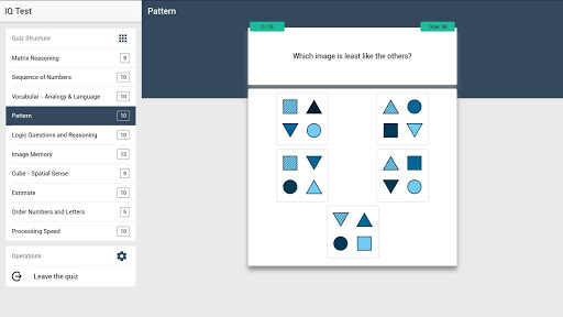 IQ Test - The Intelligence Quiz 5.0.4 screenshots 10