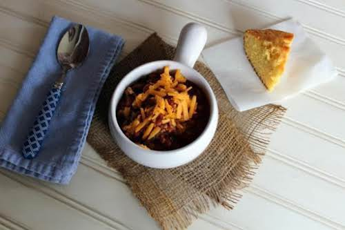 """Recipe Here: OMG Chili """"I have the pickiest of eaters in my..."""