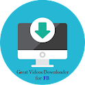 Great Videos Downloader for FB icon