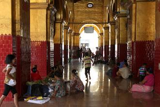 Photo: Year 2 Day 55 -  In the Temple in Mahamuni Paya