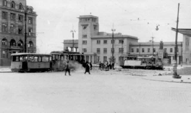 BUCHAREST RAILWAY STATION IN WAR