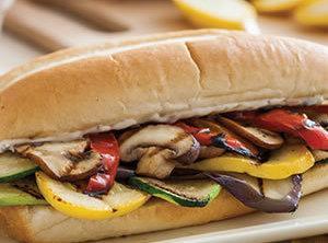 Veggie Lovers Sandwich With Roasted Garlic Recipe