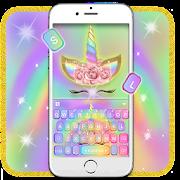 App Rainbow Pink Rose Unicorn Keyboard Theme APK for Windows Phone