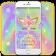 Rainbow Pink Rose Unicorn Keyboard Theme apk