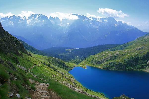 Dolomiti: Lago Ritorto di Fabrizio Di Giovanni