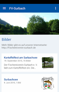 Fischereiverein Surbach e.V. – Miniaturansicht des Screenshots