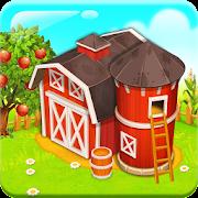 Bauernhof Stadt:Farm in der Nähe der ruhigen Stadt
