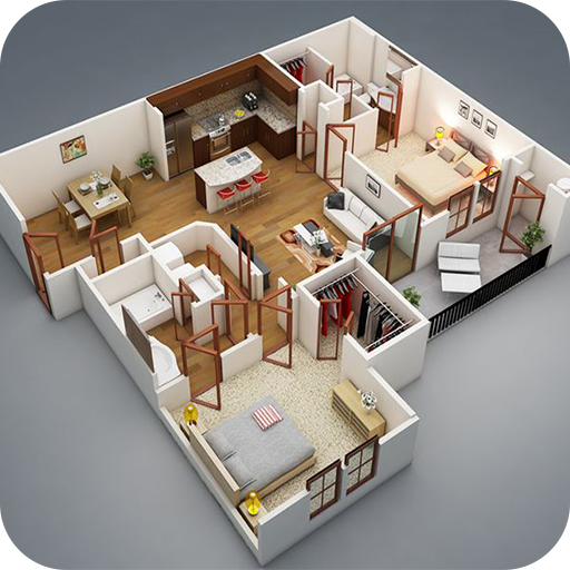 House Plan Ideas 3D