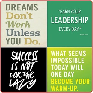 Motivation Words - náhled