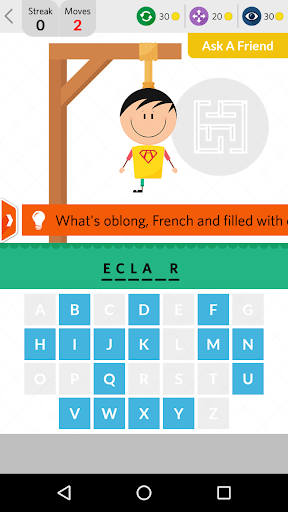 Mr Hangman: English Word game