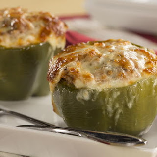 Stuffed Bell Peppers Without Meat Recipes.