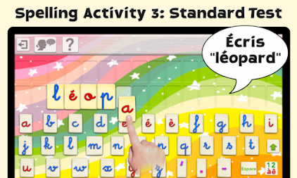 French Word Wizard - Learn to read and spell APK screenshot thumbnail 6