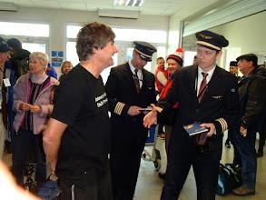 Photo: Alex and pilots