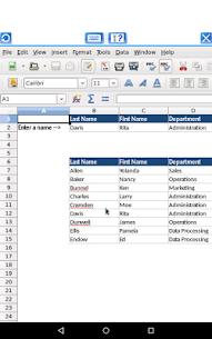 AndroCalc Spreadsheet editor for XLS, XLSX and ODS 5