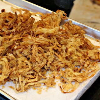 Spicy Onion Straws.