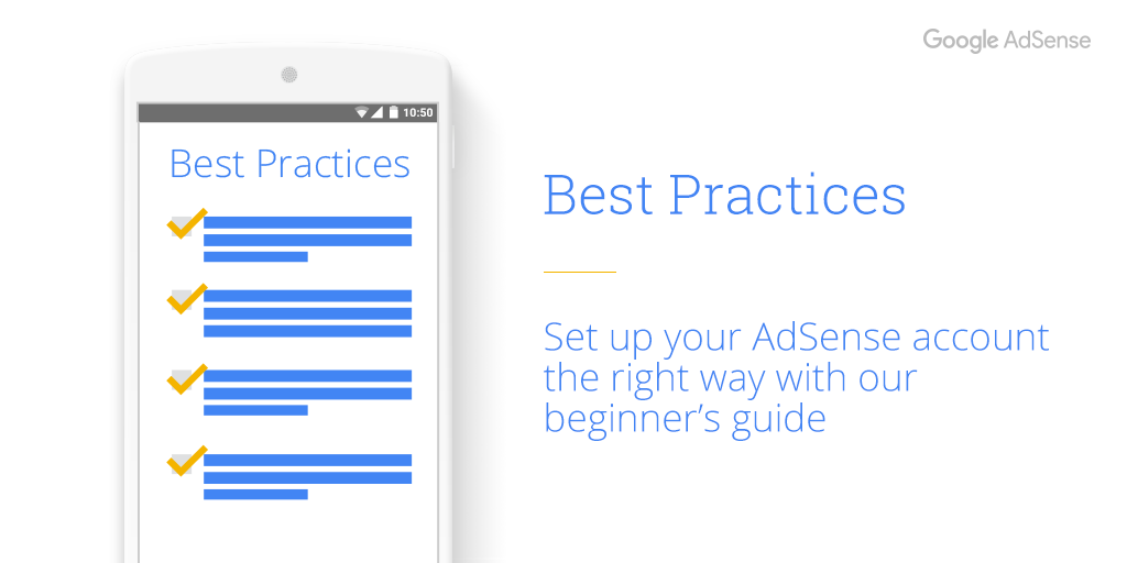 AdSense best practice: Set yourself up for success