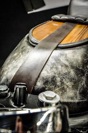 préparation cafe racer moto paris rides mode de vie finition