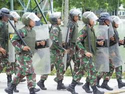 Berita foto Armed 12/Kostrad Ngawi Jawa Timur