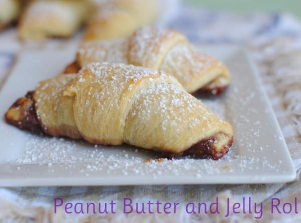 Pb & Jelly Crescent Rolls Recipe