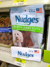 Photo: We settled on the small bag of Nudges - Chipper is only 5lbs!