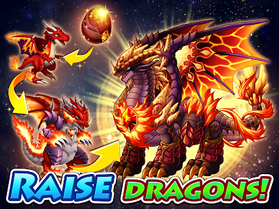 Dragon x Dragon MOD APK 1.6.0 [God Mode, One Hit] 6