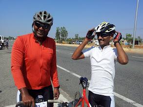 Photo: Prajwal and Sanjay..