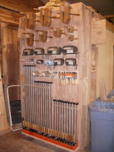 Photo: All together, there are 106 clamps hanging here...