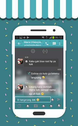 玩免費通訊APP|下載Tema Panda by SGP app不用錢|硬是要APP