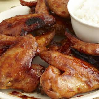 Char Siu Chicken Wings.