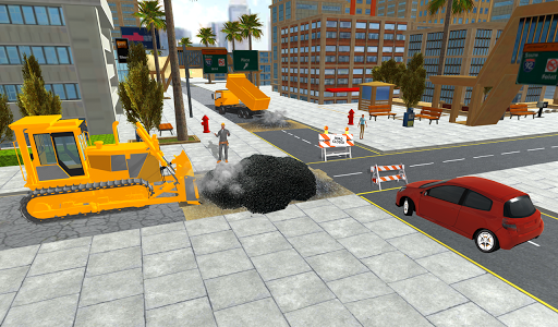 Real City Road Construction 3D filehippodl screenshot 2