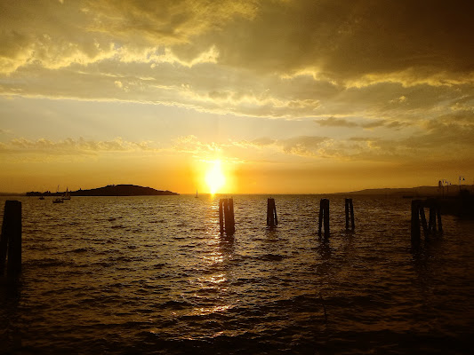 Tramonto nel paese dei tramonti  di Marina Ingino ph