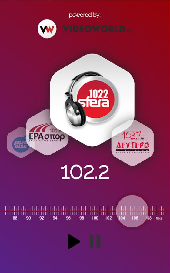 Athens Radio Stations - στιγμιότυπο οθόνης