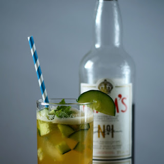 Apple Cider Pimm's Cup