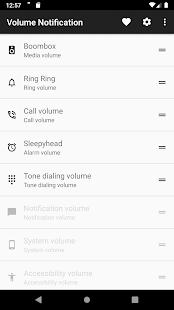 Volume Notification - náhled