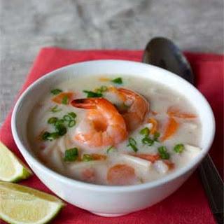 Easy Shrimp Coconut Soup