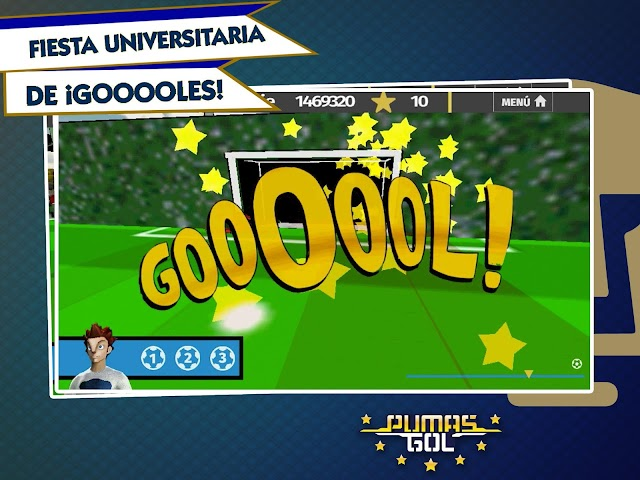 android Pumas Gol Screenshot 1