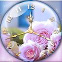 Rose Clock Live Wallpaper icon